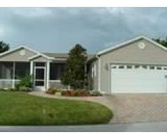 Large home with golf course access in secure gated pet friendly community