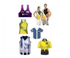 Custom made Sportswear sublimation in Perth Australia